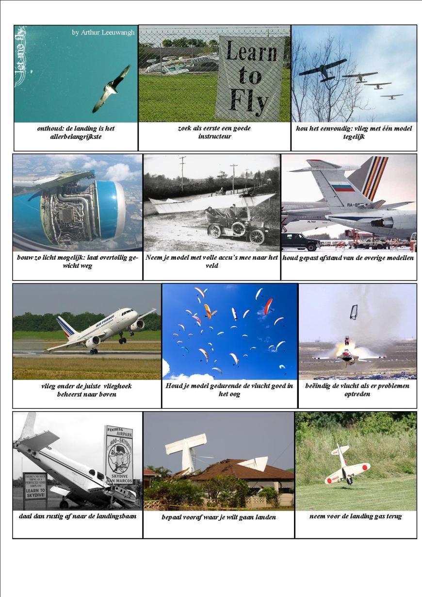 hoe leer ik vliegen pag. 1